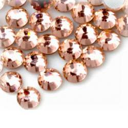 1440pcs Peach Crystal Rhinestones Flat back SS12 (3.0mm) - No Hotfix